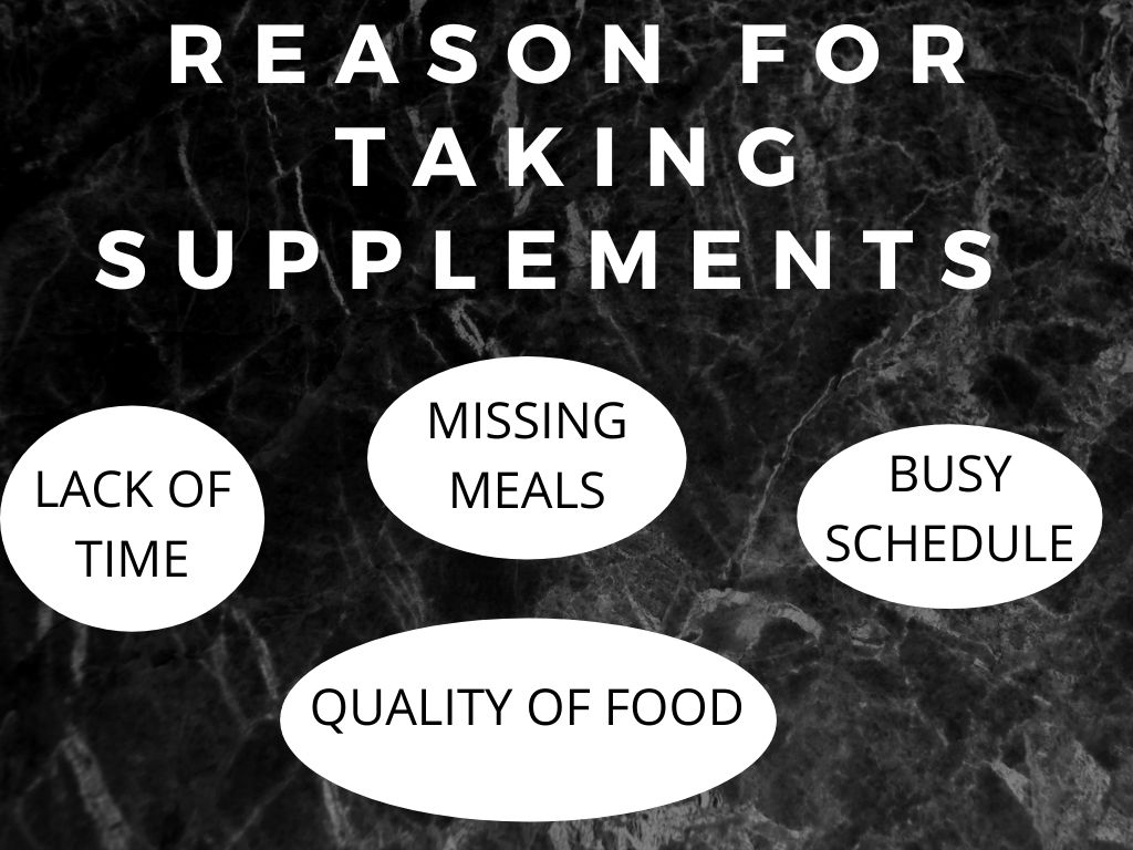 reason for taking supplements