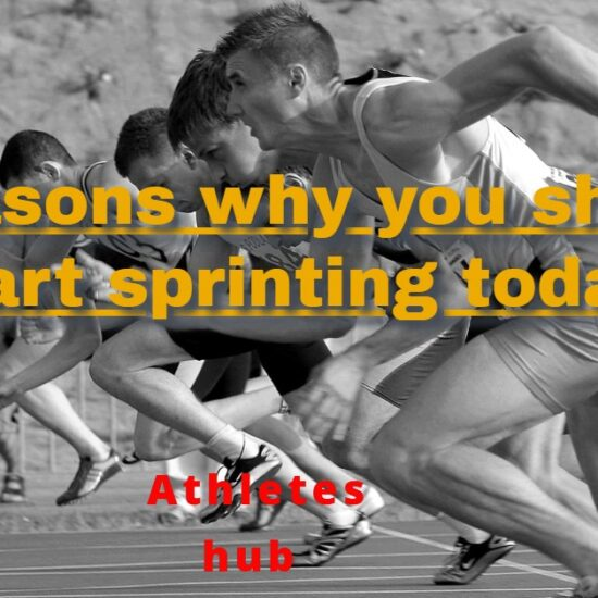 Sprinting: 7 Reasons  start sprinting today